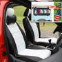 Samsun Car Seat Cover for Hyundai Eon - Black & White
