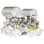 Klassic Vimal 163 Pcs Stainless Steel Dinner Set
