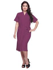Purple Turkish Cotton Bathrobe_DB-BR-RTM-209