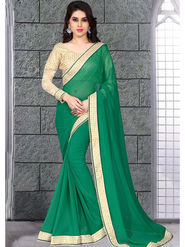 Viva N Diva Bemberg Georgette Embroidered Saree 10066-Sanaa