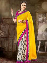 Viva N Diva Printed Bhagalpuri Silk Saree -sa13