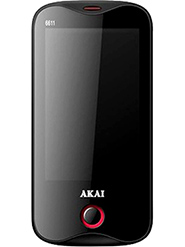Akai 6611 - Black & Red