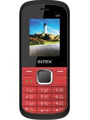 Intex Neo 204 Dual SIM Mobile Phone - Black & Red