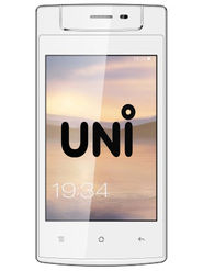UNI N6100 Tri-Sim Feature Phone with 5 MP Camera - White