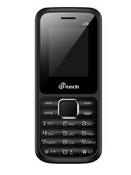 Mtech L33 Dual Sim Feature Phone - Grey