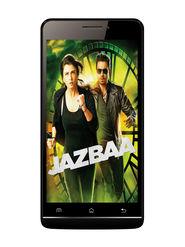 Mtech Jazbaa 5 Inch Android Lollipop Smartphone (RAM:2GB ROM:16GB) - Black
