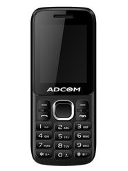 Adcom C1- 1.8 inch CDMA phone _Black & Red