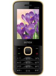 Intex Turbo Star 2.4 Inch Dual Sim - Black & Gold