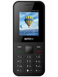 Intex Eco 105 1.8 Inch Dual Sim - Gray & Black