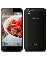 Karbonn Titanium S200 Hd 5 Inch Android (Lollipop) Dual Sim 3G Calling Smartphone - Black & Silver