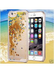 Aeoss Glitter Waterfall Iphone 6 Case Sand Quicksand Star Case Crystal Clear