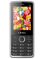 I Kall K39 Dual SIM Mobile Phone - Black