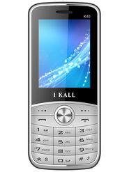 I Kall K40 Dual SIM Mobile Phone - Silver