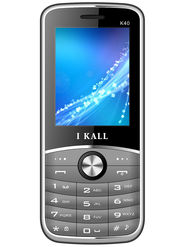 I Kall K40 Dual SIM Mobile Phone - Grey