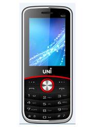UNI New N23 New Dual SIM Mobile Phone - Black