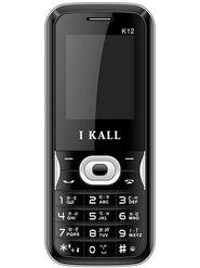 I Kall K12 Dual Sim Mobile Phone - Black