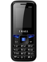 I Kall K16 Dual Sim Mobile Phone - Black & Blue
