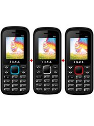 Combo of I Kall K55 Dual Sim Mobile - ( Red,White,Blue)