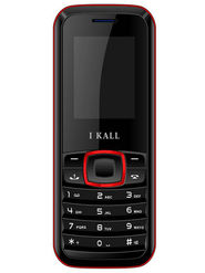 I Kall K19 Dual SIM Mobile Phone (Black Red)