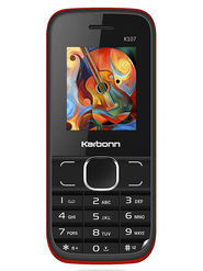 Karbonn Mobile K107 (Black Red)