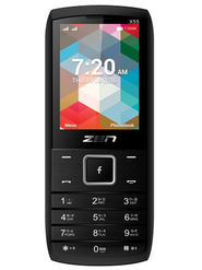 ZEN X55 Star Dual SIM Feature phone (Black)