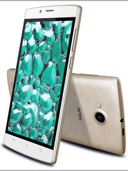 Intex Cloud Matte 5 inch Lollipop 3G Smart Phone (White)