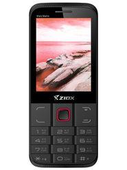 Ziox Starz Matrix Dual SIM Feature Phone (Black Red)