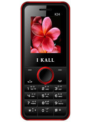 I KALL K24 with Leather Back (Black & Red)