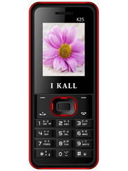I KALL K25 with Leather Back (Black & Red)