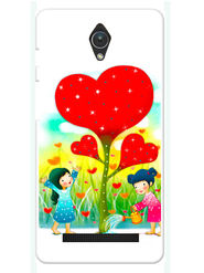 Snooky Designer Print Hard Back Case Cover For Asus Zenfone C ZC451CG - Multicolour