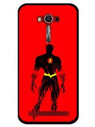 Snooky Designer Print Hard Back Case Cover For Asus Zenfone 2 Laser 5.0 (ZE500KL) - Red
