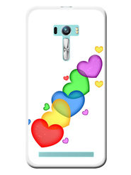 Snooky Designer Print Hard Back Case Cover For Asus Zenfone Selfie ZD551KL - Multicolour
