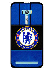 Snooky Designer Print Hard Back Case Cover For Asus Zenfone Selfie ZD551KL - Blue