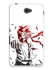 Snooky Designer Print Hard Back Case Cover For Sony Xperia E4 - White