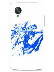 Snooky Designer Print Hard Back Case Cover For LG Google Nexus 5 - Blue