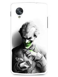 Snooky Designer Print Hard Back Case Cover For LG Google Nexus 5 - Grey
