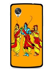 Snooky Designer Print Hard Back Case Cover For LG Google Nexus 5 - Yellow