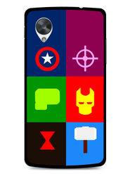 Snooky Designer Print Hard Back Case Cover For LG Google Nexus 5 - Multicolour