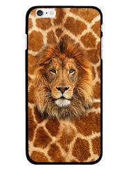 Snooky Designer Print Hard Back Case Cover For Apple iPhone 6S - Brown