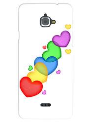 Snooky Designer Print Hard Back Case Cover For InFocus M530 - Multicolour