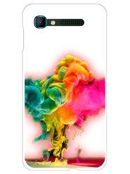 Snooky Designer Print Hard Back Case Cover For Intex Aqua Y2 pro - Multicolour