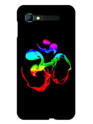 Snooky Designer Print Hard Back Case Cover For Intex Aqua Y2 pro - Black