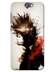Snooky Digital Print Hard Back Case Cover For HTC One A9 - White