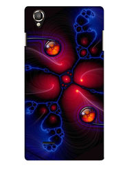 Snooky Digital Print Hard Back Case Cover For Lava Iris 800 - Multicolour