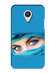 Snooky Digital Print Hard Back Case Cover For Meizu MX4 - Blue