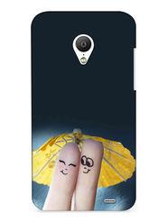 Snooky Digital Print Hard Back Case Cover For Meizu MX3 - Grey
