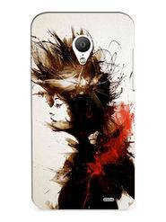 Snooky Digital Print Hard Back Case Cover For Meizu MX3 - White