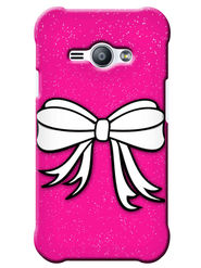 Snooky Digital Print Hard Back Case Cover For Samsung Galaxy J1 Ace - Pink