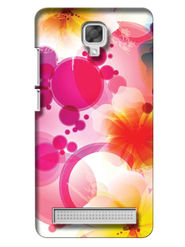 Snooky Digital Print Hard Back Case Cover For Micromax Bolt Q331 - White
