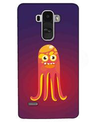 Snooky Digital Print Hard Back Case Cover For LG G4 Stylus - Purple